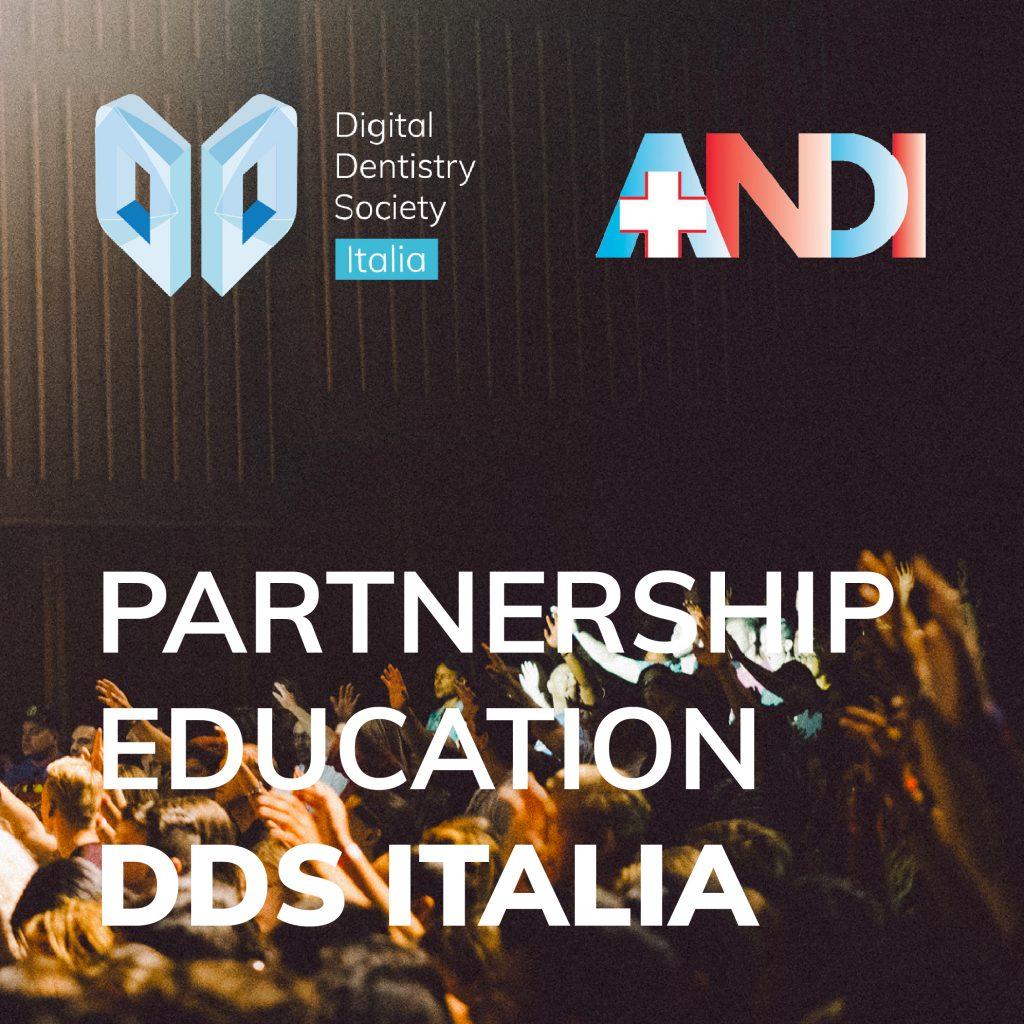 Nuova collaborazione per la formazione dei dentisti con Digital Dentistry Society e ANDI